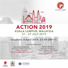 CALL FOR DELEGATION : ACTION 2019