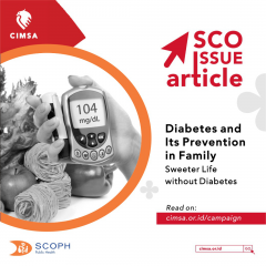 SCO ISSUE ARTICLE - Diabetes and Its Prevention in Family : Sweeter Life without Diabetes