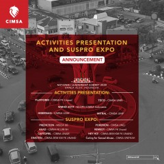 ACTIVITIES PRESENTATION AND SUSPRO EXPO NLS 2020