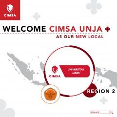 WELCOME OUR NEW LOCAL: CIMSA UNIVERSITAS JAMBI!