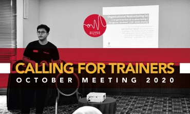 CALL FOR TRAINER - VIRTUAL OCTOBER MEETING CIMSA 2020