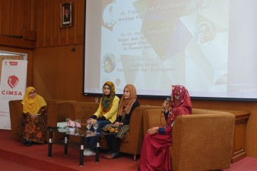 SEMINAR EMPOWERING WOMEN: Active, Beauty, Healthy - CIMSA UNISBA thumb