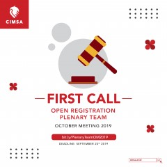 FIRST CALL - PRESIDIUM & KKS OCTOBER MEETING 2019