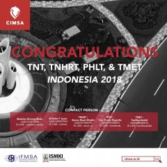 ANNOUNCEMENT TRAINEE PRE-OCTOBER MEETING WORKSHOP CIMSA 2018, SURABAYA