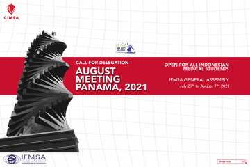 Call for Delegation: August Meeting Panama, 2021