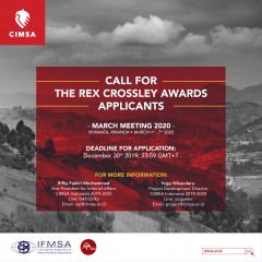 REX CROSSLEY AWARD MARCH MEETING 2020