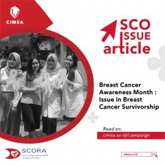 SCO ISSUE ARTICLE - Breast Cancer Awareness Month : Issue in Breast Cancer Survivorship