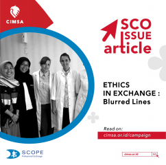 SCO Issue Article : Ethics in Exchange
