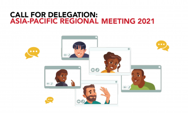 Call for Delegation: Asia-Pacific Regional Meeting 2021