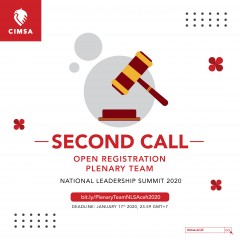 SECOND CALL - PRESIDIUM & KKS NATIONAL LEADERSHIP SUMMIT 2020