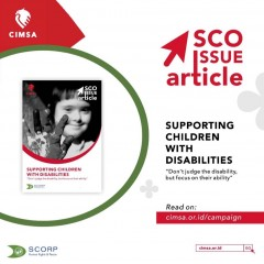 SCO Issue Article - Supporting Children with Disabilities