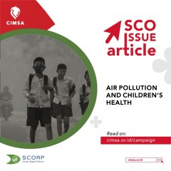 image SCO ISSUE ARTICLE - Air Pollution and Children's Health