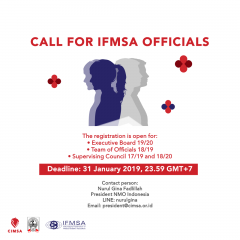 image CALL FOR IFMSA OFFICIALS