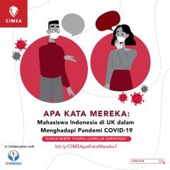 APA KATA MEREKA #1: MAHASISWA INDONESIA DI UK DALAM MENGHADAPI PANDEMI COVID-19