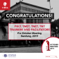 Mini Thumb ANNOUNCEMENT: TRAINERS AND FACILITATORS OF PRE- OCTOBER MEETING CIMSA INDONESIA 2019