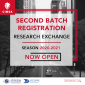 Mini Thumb RESEARCH EXCHANGE SCORE CIMSA OPPORTUNITIES: 2ND BATCH REGISTRATION