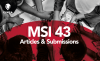 Mini Thumb Call for MSI 43 Articles & Submissions