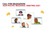 Mini Thumb Call for Delegation: Asia-Pacific Regional Meeting 2021