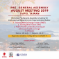 Mini Thumb PRE-GENERAL ASSEMBLY AUGUST MEETING 2019, TAIWAN