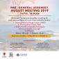 Mini Thumb PRE-GENERAL ASSEMBLY AUGUST MEETING 2019, TAIWAN